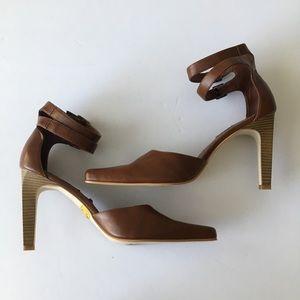 Sketchers|brown heels| Size:10